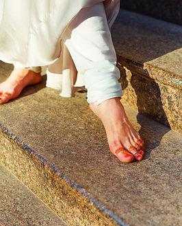 Indian Dancer's Feet