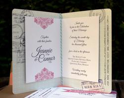 Playa Passport Wedding