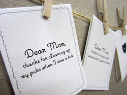 Dear Mom Mother's Day