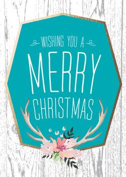 Boho Merry Christmas