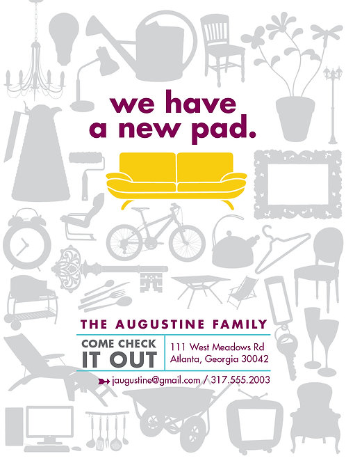 We have a new pad! postcards