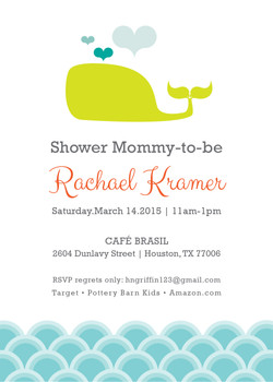 Baby Whale Baby Shower