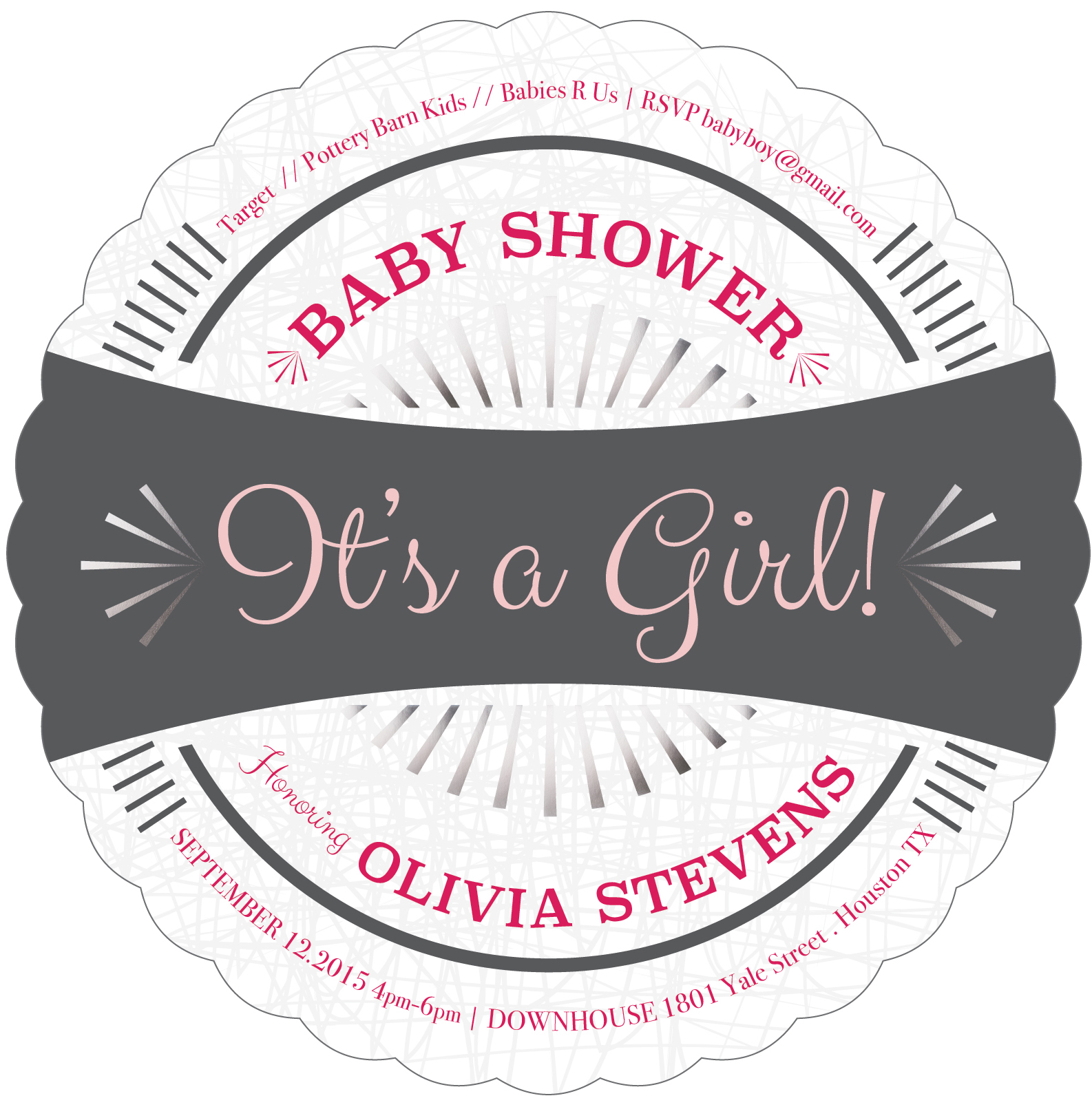 Premium Quality Baby Girl Shower