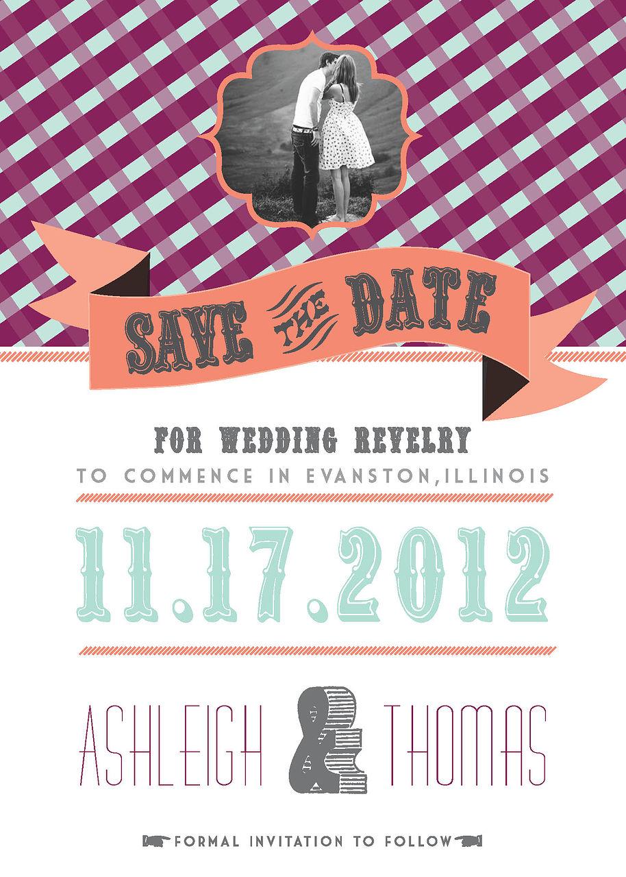 "Save the Date ""World Fair"""