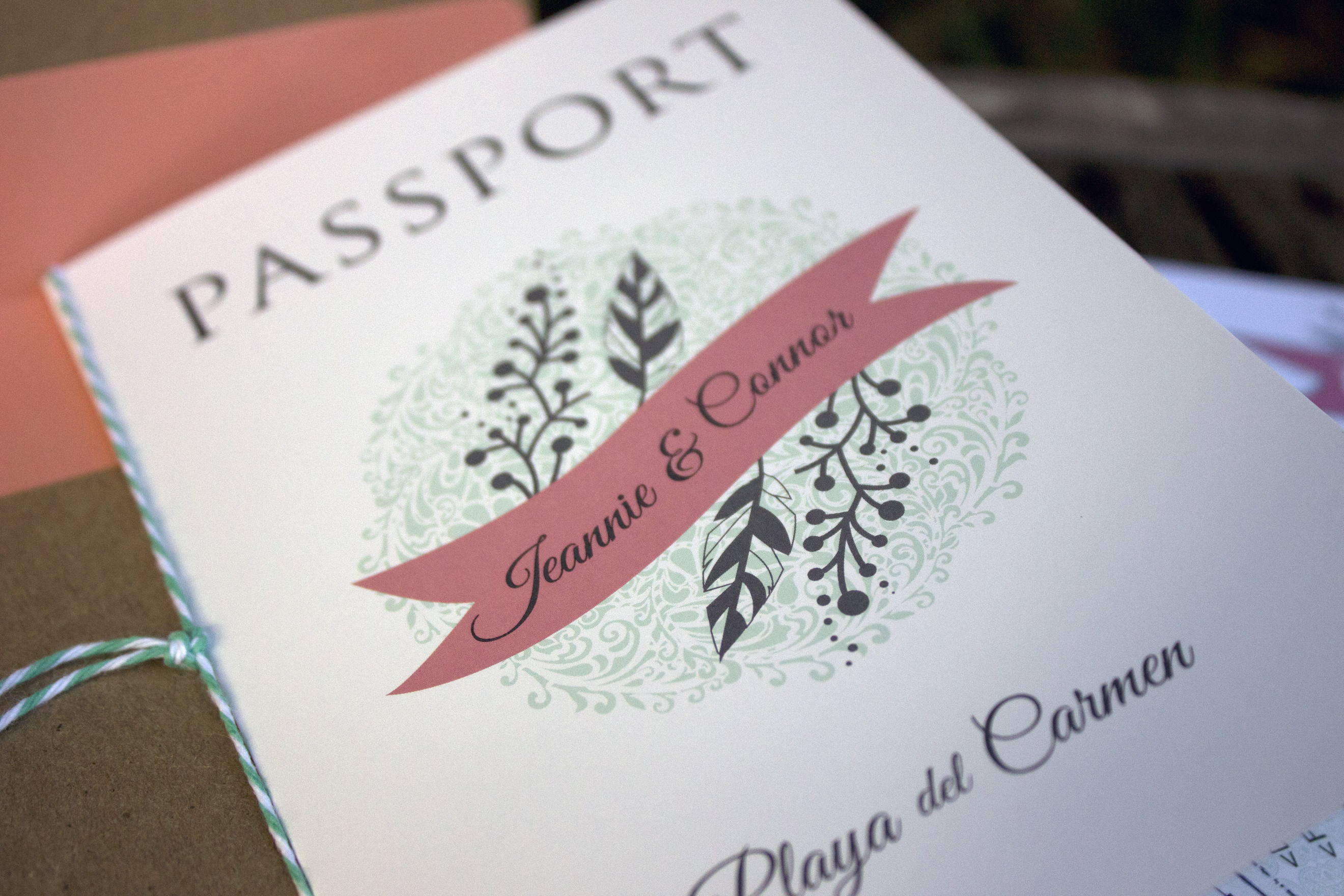 Playa Passport Wedding