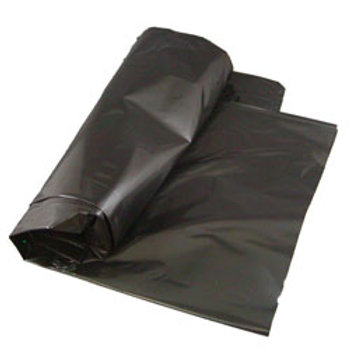 PRI Can Liner 55 Gallon 1.5 Mil - Black