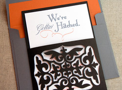 Gettin Hitched Die Cut Save The Date