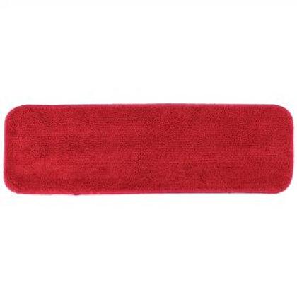 """PRI Micro Fiber Pad 18"""" x  5"""" - Red - 12 pack"""