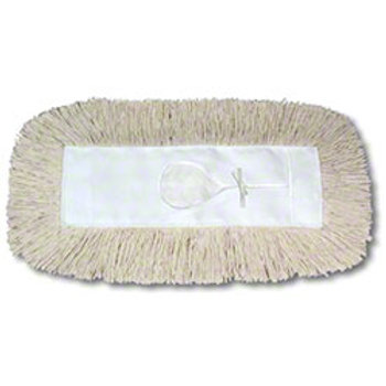 "PRI Cotton Dust Mop Refill 24"" x 5"""