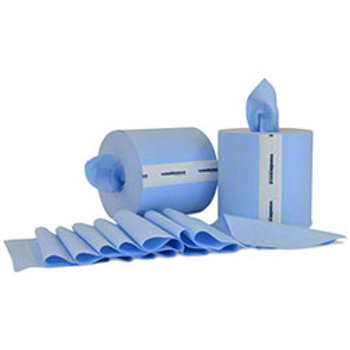 VON Blue Wiper Paper Towel  250' Roll