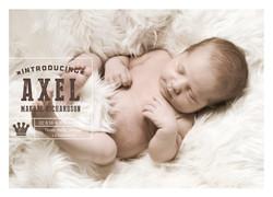 Little Prince Birth Announcement