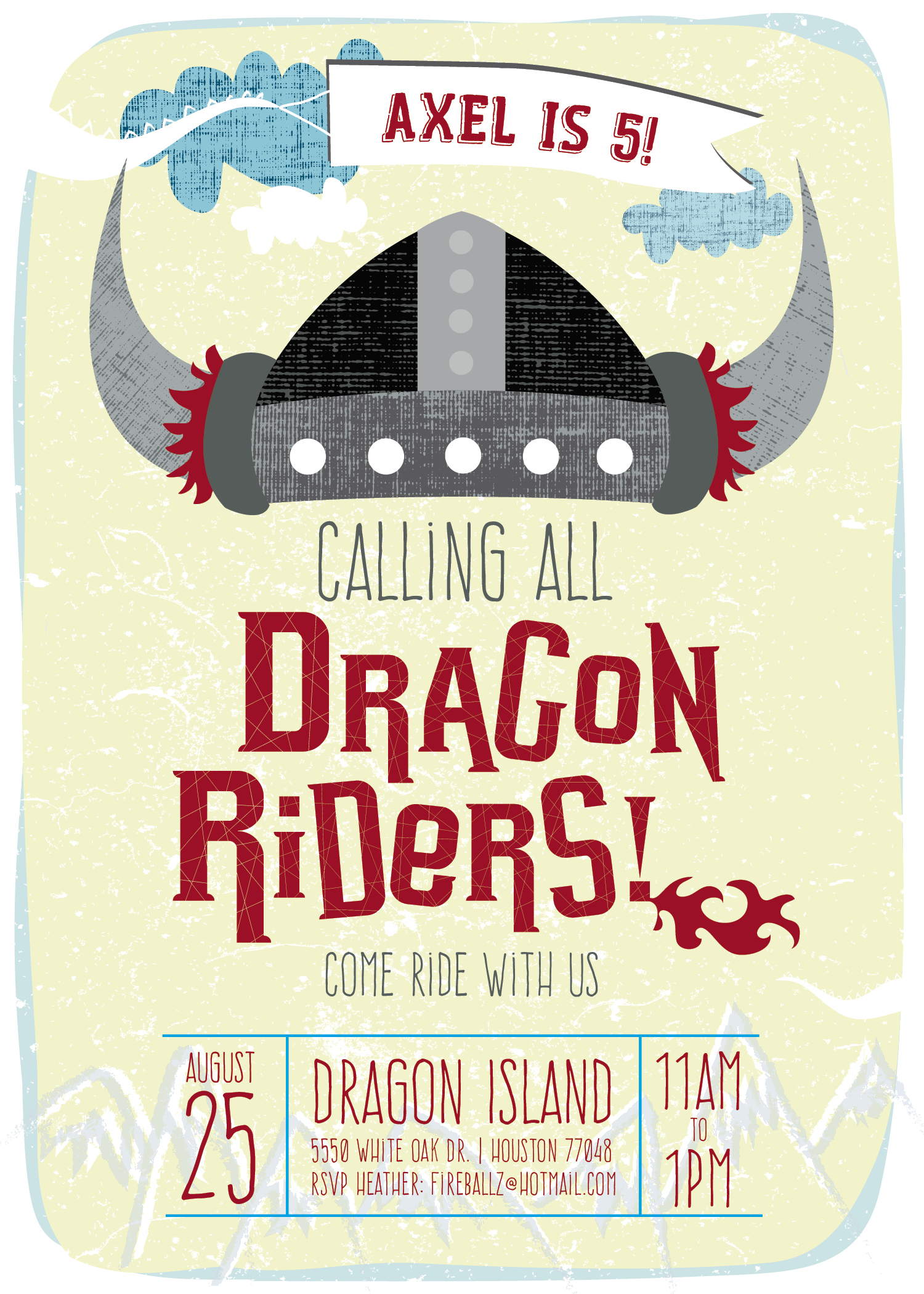DragonRider Kids' Birthday