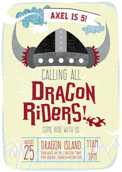 DragonRider Kids' Birthday