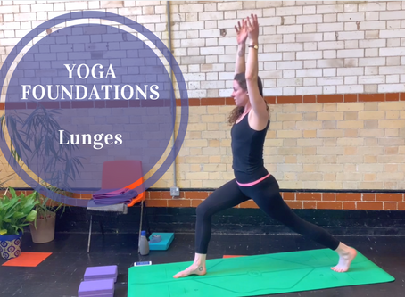 Understanding Vinyasa Flow Yoga... Part 8: Anjaneyasana