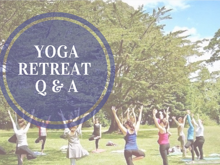 Yoga retreat: Q&A time