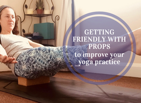 Get friendly with props to improve & diversify your yoga experience