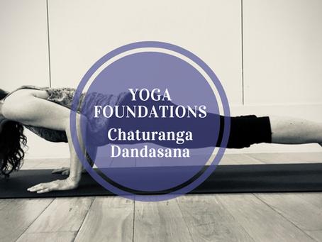 Understanding Vinyasa Flow Yoga... Part 10: Chaturanga Dandasana