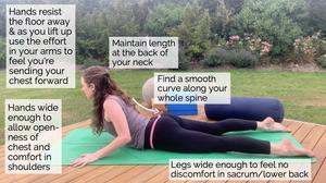cobra pose tips