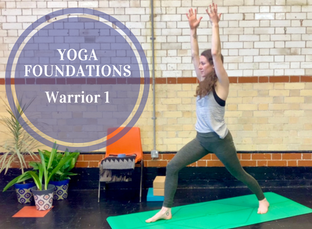 Understanding Vinyasa Flow Yoga...    Part 3:   Warrior One