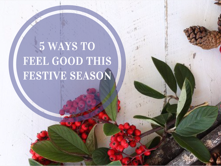 5 ways to feel good this festive season