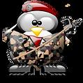 1FP  Tux-   mit Barett militaire.png
