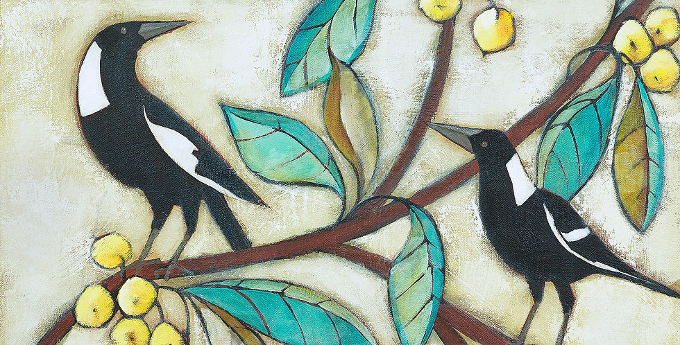 459 MAGPIES AND LOQUATS