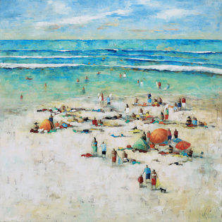 BEACHES AND WATERSCAPE PAINTINGS