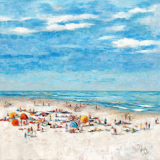 551ZBLUE(C)  IN THE SUMMERTIME (F) 30X30
