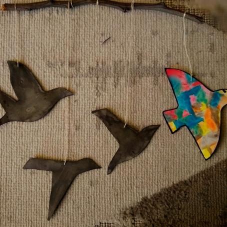 Móbile de Pássaros