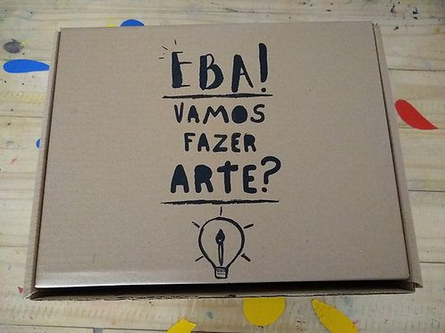 KIT DE ARTES Inclusão Criativa.
