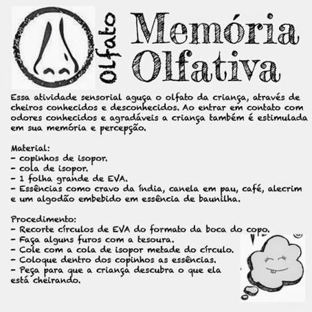 Memória Olfativa!