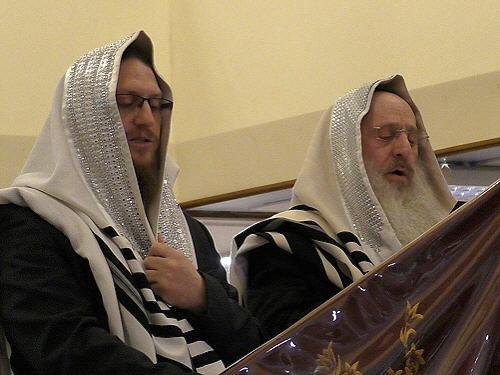 Rabbi's David and Yaakov Singer