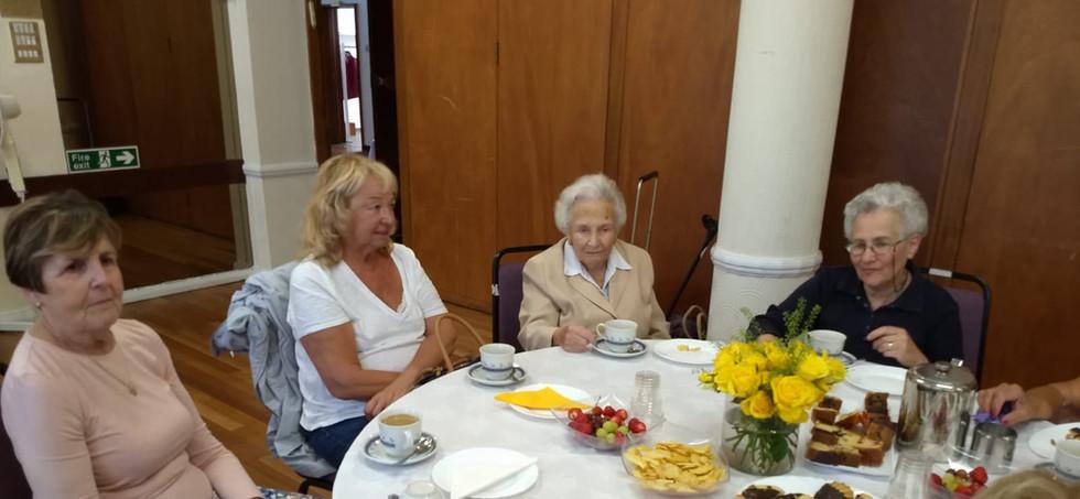 Welfare Committee tea