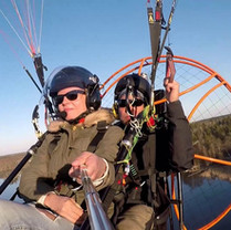 Paramotor tandemflyg