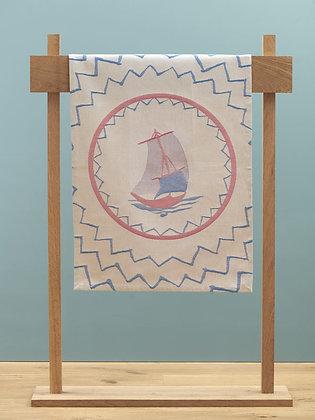 "Tea Towel Jacquard ""Barque"""