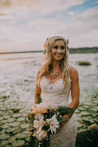 Lake Bridal Portraits