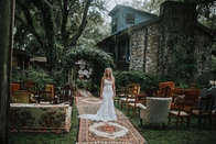 eclectic furniture wedding
