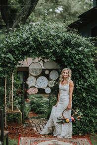 florida wedding archway