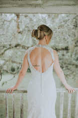 open back wedding pictures