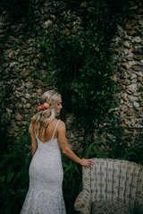 greenery outdoor wedding