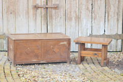 Trunk and Side Table