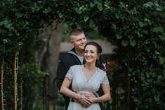 ceremony archway elopement