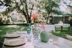 large floral vases centerpieces