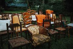 Unique ecletic chairs