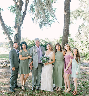 family owned florida garden wedding venue and coordinator services