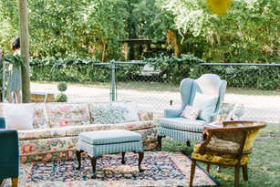 couches and chairs for wedding venue, reception, ceremony