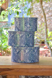 anitque hat boxes for centerpieces, cards,