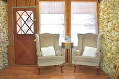 seating in bridal suite