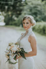 outdoor trees wedding pictures