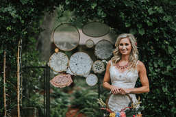 dreamcatcher wedding backdrop